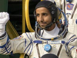 Emirati reach international space station UAE